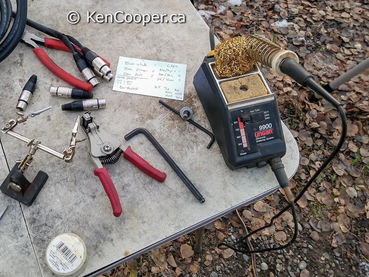 Ungar_9900 soldering station.