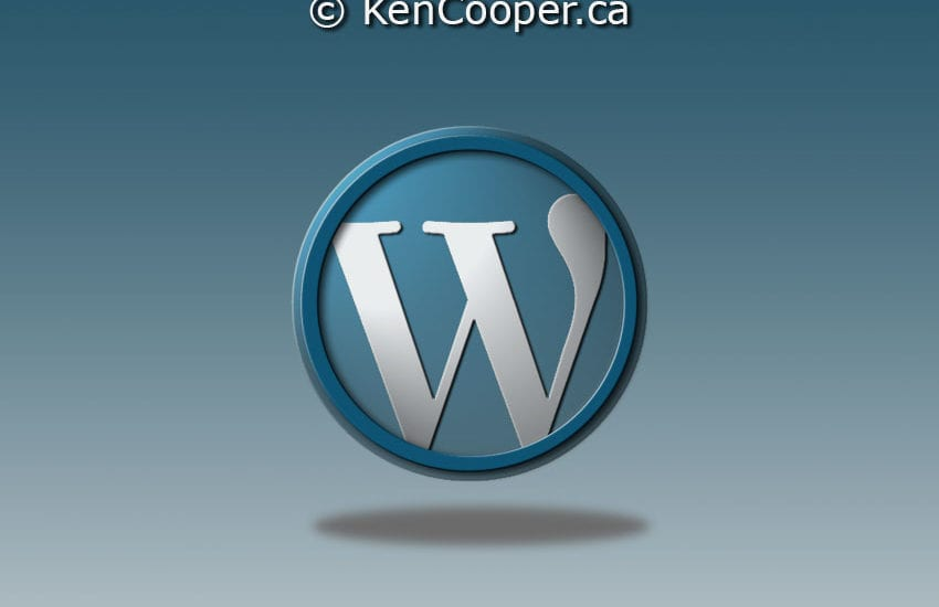 WordPress photoshop illustration