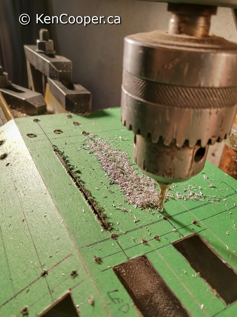 Milling bit used for making a slot.