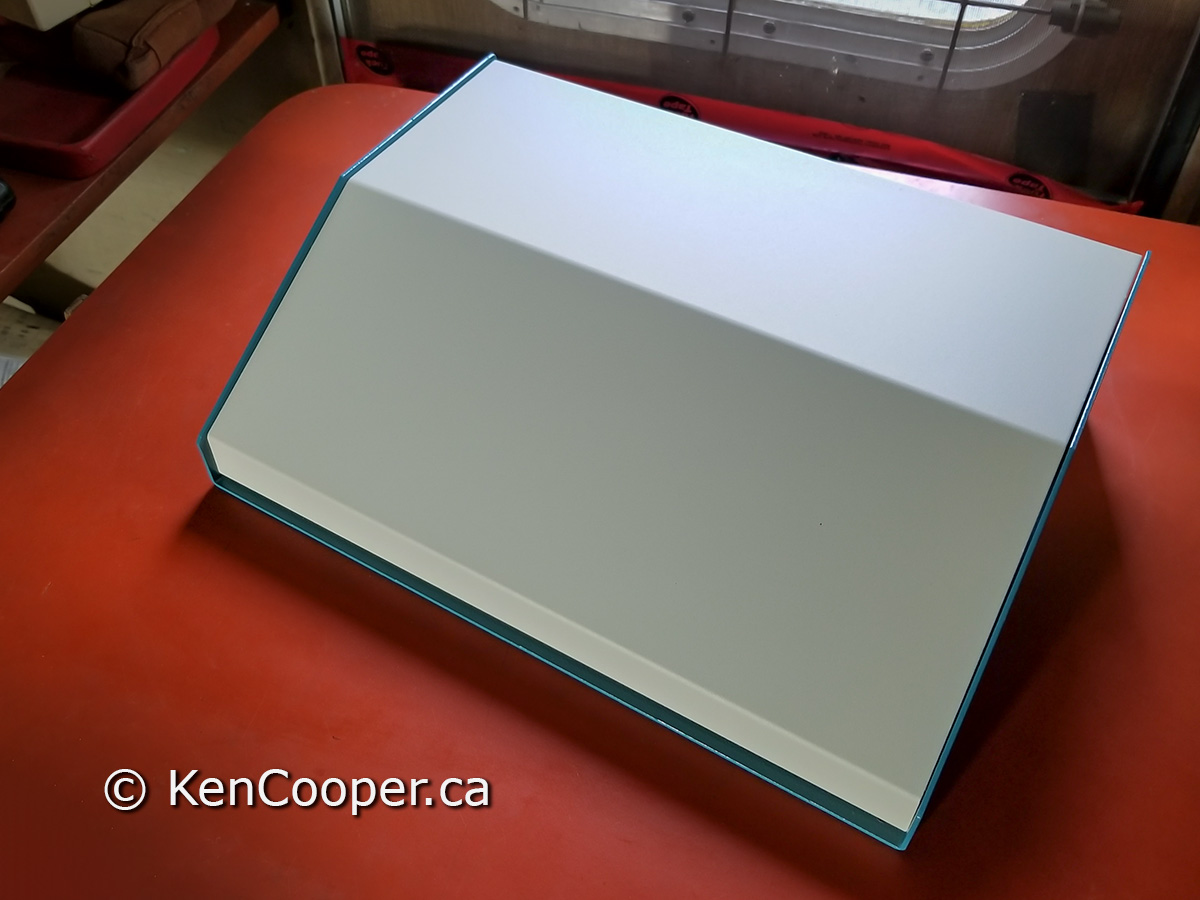 A new aluminum console box.