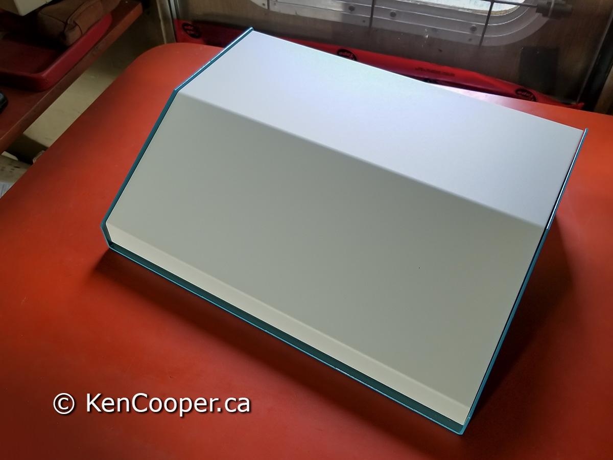 A new aluminum console box.