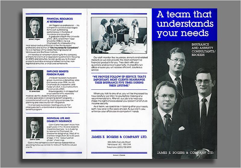 James E Rogers - brochure.