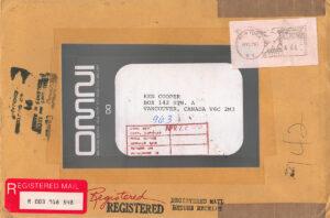OMNI Magazine - return mail.